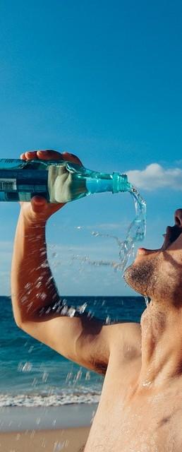 boire de leau alcaline