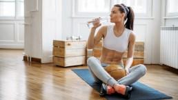 Boire eau Sport